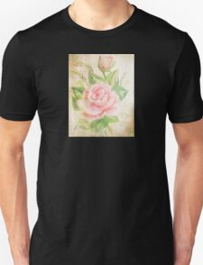 Rose with petals sweet. Unisex T-Shirt