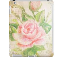 Rose with petals sweet. iPad Case/Skin