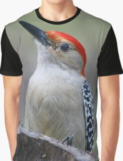 Red-bellied Woodpecker Graphic T-Shirt