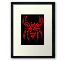 The Widow Strikes Framed Print