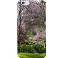 Almost Noon with Plum Blossoms in Japanese Garden iPhone Case/Skin