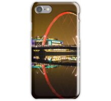 Glasgow River reflection iPhone Case/Skin