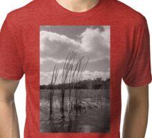 On 9-Mile Pond Tri-blend T-Shirt