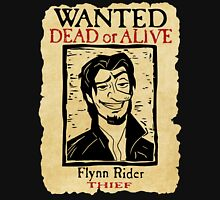 WANTED FLYNN RIDER: LONG NOSE Unisex T-Shirt