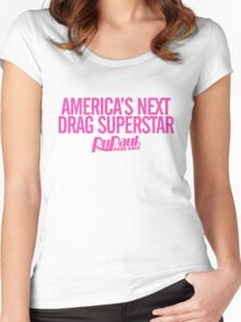 America's Next Drag Superstar Women's Fitted Scoop T-Shirt