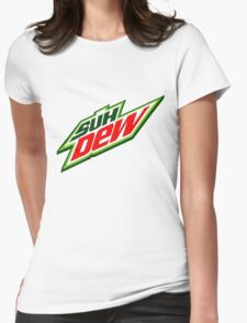 SUH DUDE SUH DEW MOUNTAIN DEW Womens Fitted T-Shirt