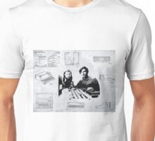 APPLE COMPUTER FIRST PATENT - JOBS & WOZNIAK Unisex T-Shirt