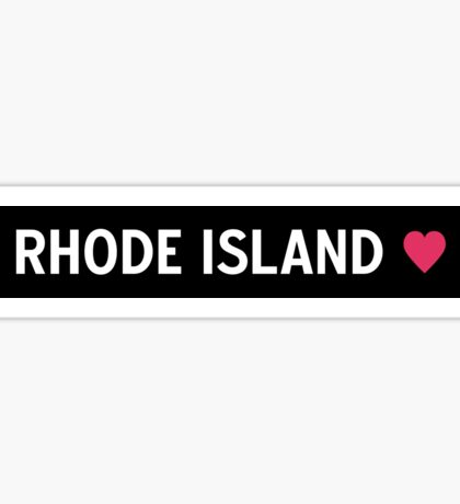 Rhode Island Sticker