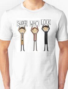 SuperwhoLock Signs T-Shirt