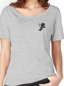bishop the blue clawed jackdaw (custom) Women's Relaxed Fit T-Shirt