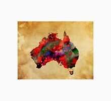 WATERCOLOR MAP of AUSTRALIA Unisex T-Shirt