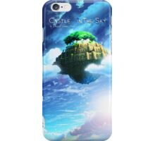 Castle In the Sky Poster iPhone Case/Skin
