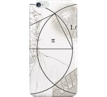 ARCHIMEDES and his PI CONSTANT iPhone Case/Skin