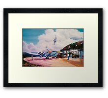 Mossie Fighter, in France '44 Framed Print