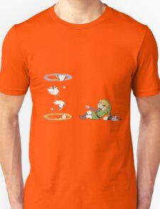 Portal 2 Chiken work machine by link T-Shirt