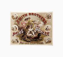 PURE BORAX - SMITH BROTHERS c. 1880 Unisex T-Shirt