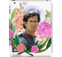 Army of Darkness Floral iPad Case/Skin