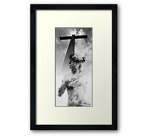 CHRIST at the CROSS Framed Print