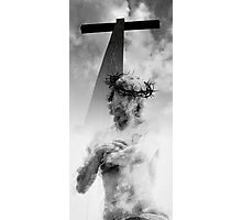 CHRIST at the CROSS Photographic Print