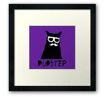 Dubstep Cat. Framed Print