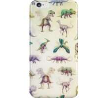 Dinosaur Cute Bundle iPhone Case/Skin