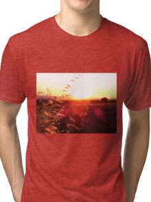 Outback Sunset Tri-blend T-Shirt
