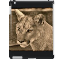 Panther Portrait  iPad Case/Skin