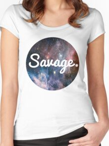 Savage Women's Fitted Scoop T-Shirt