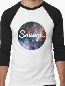 Savage Men's Baseball ¾ T-Shirt