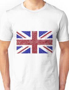 Union Jack Flag Splat Painting Unisex T-Shirt