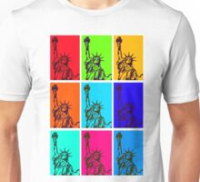 STATUE of LIBERTY POP ART Unisex T-Shirt