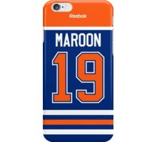 Edmonton Oilers Patrick Maroon Jersey Back Phone Case iPhone Case/Skin