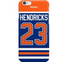 Edmonton Oilers Matt Hendricks Jersey Back Phone Case iPhone Case/Skin