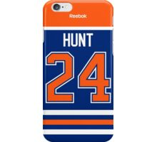 Edmonton Oilers Brad Hunt Jersey Back Phone Case iPhone Case/Skin