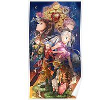 the heroes - nanatsu no taizai characters Poster