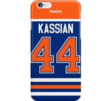 Edmonton Oilers Zack Kassian Jersey Back Phone Case iPhone Case/Skin