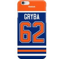 Edmonton Oilers Eric Gryba Jersey Back Phone Case iPhone Case/Skin