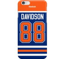 Edmonton Oilers Brandon Davidson Jersey Back Phone Case iPhone Case/Skin