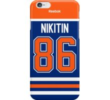 Edmonton Oilers Nikita Nikitin Jersey Back Phone Case iPhone Case/Skin