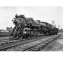 CRESCENT LIMITED STEAM LOCOMOTIVE  c. 1927 Photographic Print
