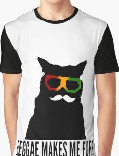 Reggae Cat. Graphic T-Shirt