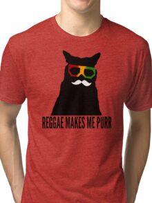 Reggae Cat. Tri-blend T-Shirt
