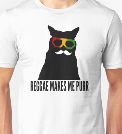 Reggae Cat. Unisex T-Shirt