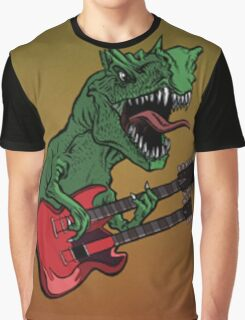 Rocker Dinosaur Graphic T-Shirt
