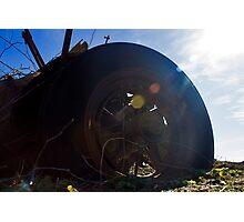 Flat Tire | Northville, New York Photographic Print