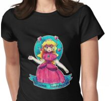Princess Toadstool Womens Fitted T-Shirt