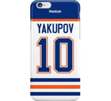 Edmonton Oilers Nail Yakupov Away Jersey Back Phone Case iPhone Case/Skin