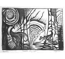 Rabbit Hole Photographic Print