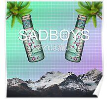 SADBOYS - YUNG LEAN - AESTHETIC  Poster