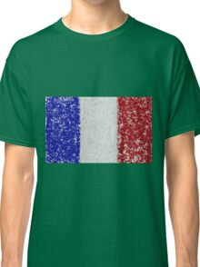 French Flag Splat Painting Classic T-Shirt